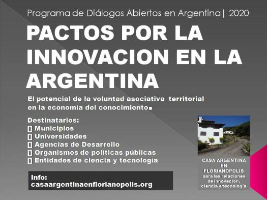 PACTOS POR LA INNOVACION EN LA ARGENTINA BANNER 5